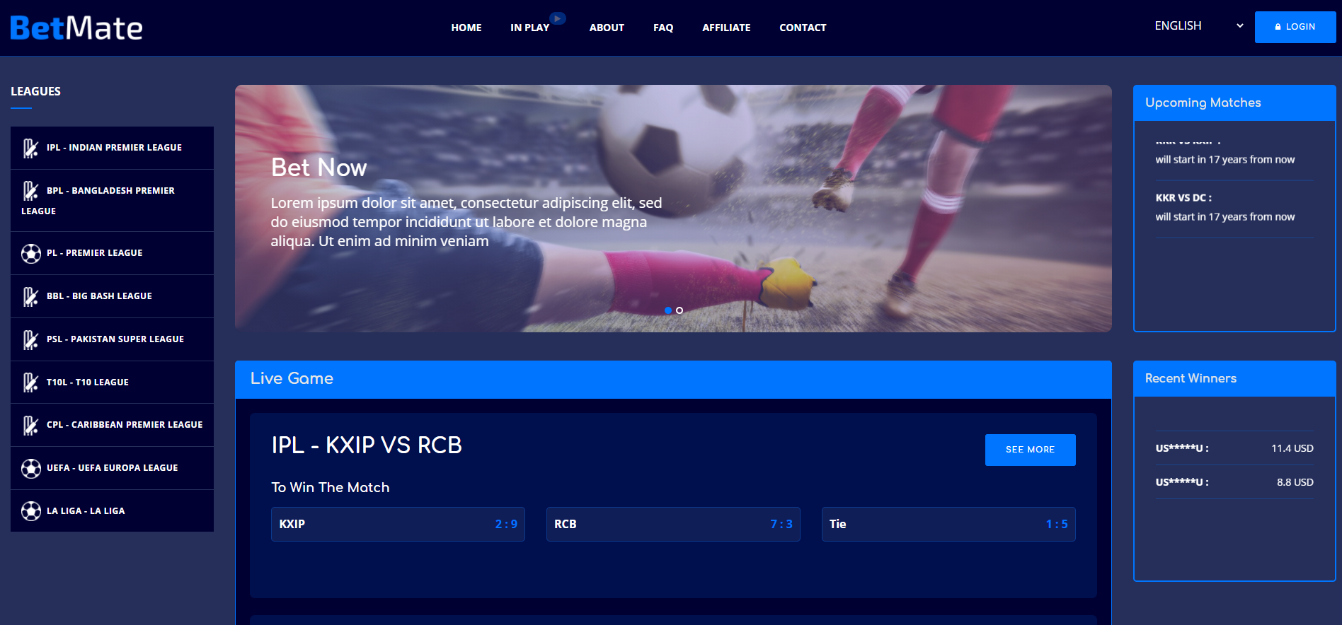 Sport betting script nulled free professional betting advice football